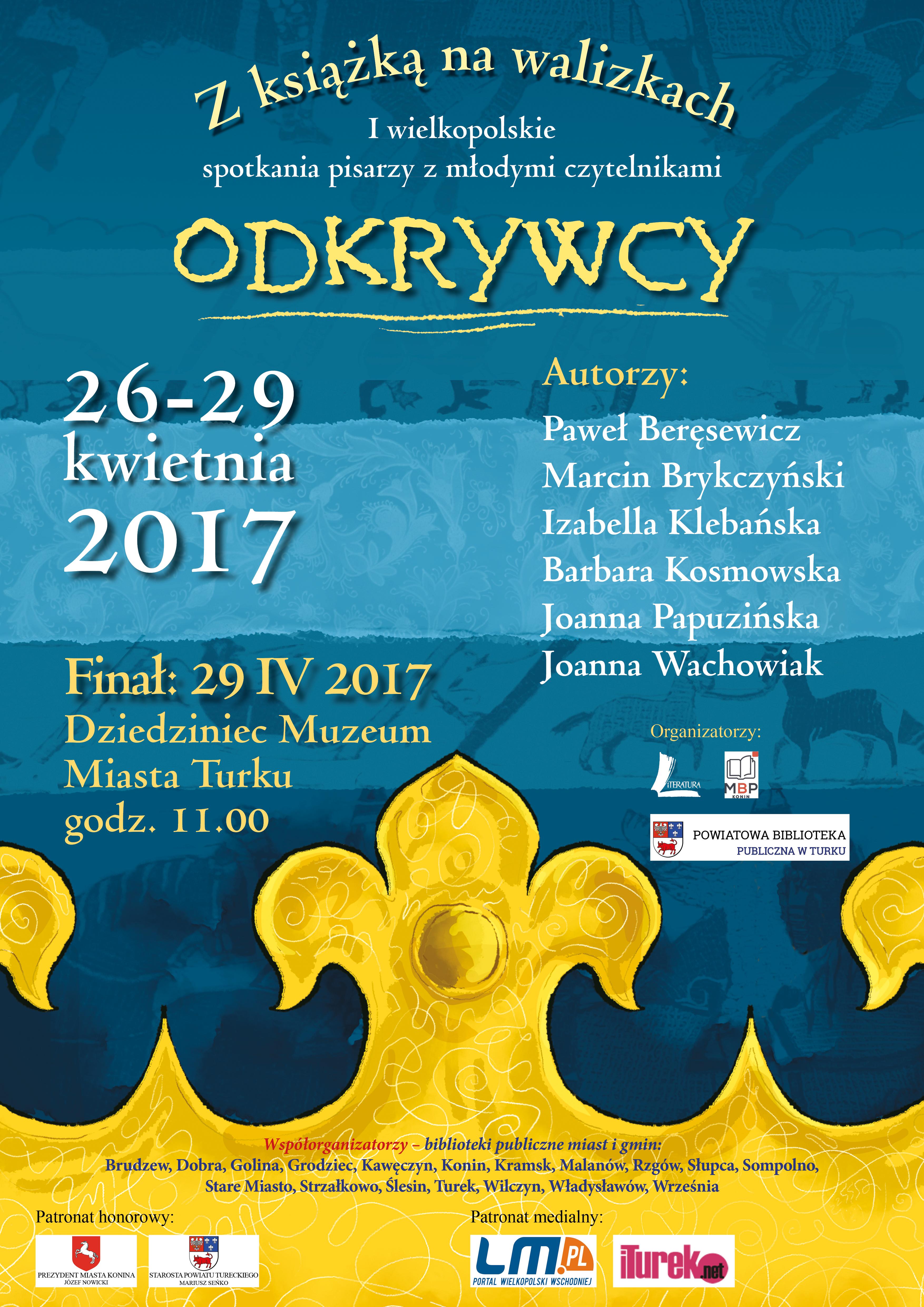 Plakat walizki wielkopolskie 2017 POP